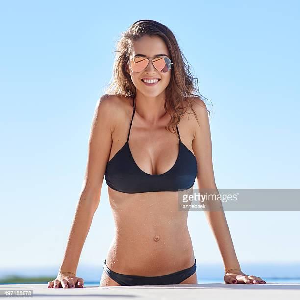 Das Leben ist schöner in einem bikini