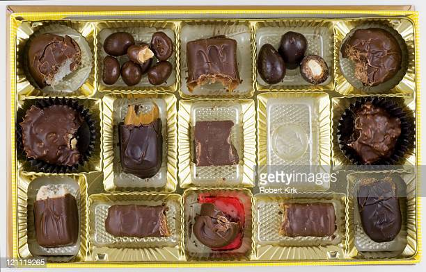 life is like a box of chocolates - ugly kids stock photos and pictures