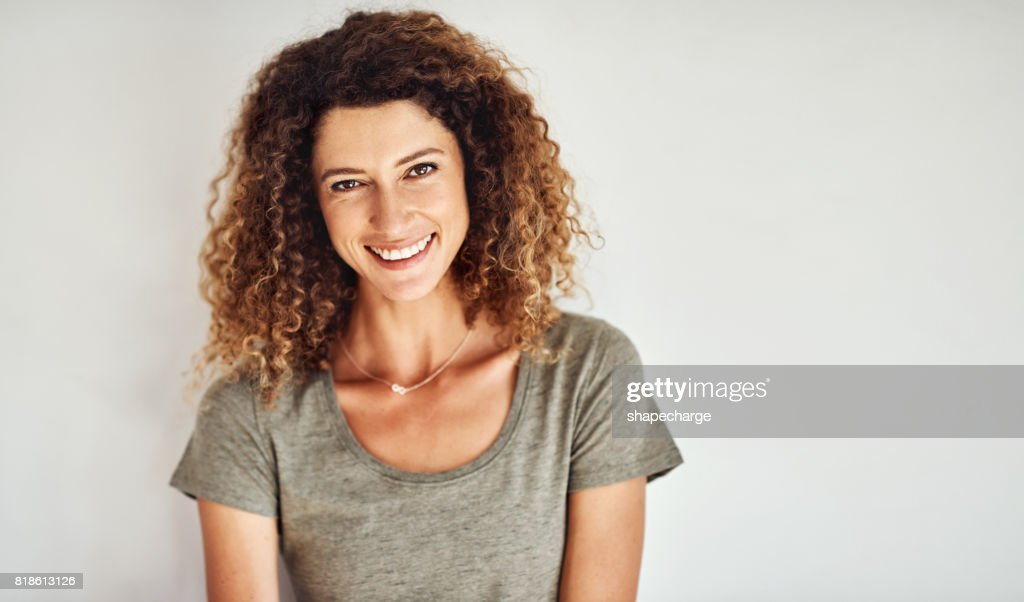 Life is too short not to smile : Stock Photo