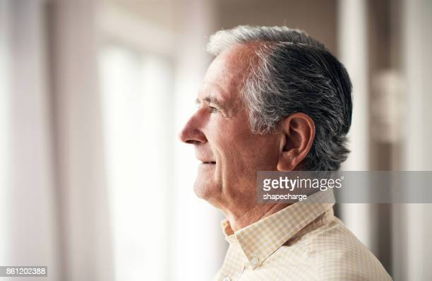 life looks good from here on out - one senior man only stock pictures, royalty-free photos & images