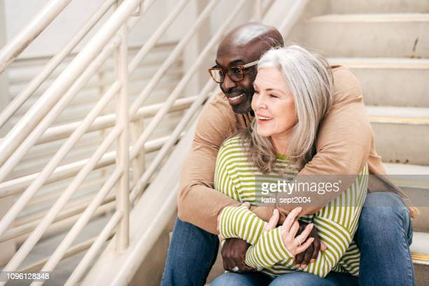 life, love and happiness after 60 - heterosexual couple stock pictures, royalty-free photos & images