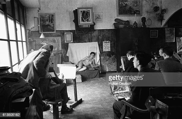 Art Students Painting Female Nude In Algiers Pictures  Getty Images-5248