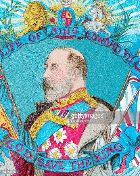 God Save the King' c1902 Edward VII King of the United Kingdom of Great Britain and Ireland King of the Commonwealth Realms and Emperor of India He...