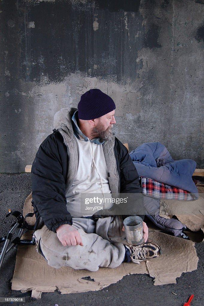 Life of Poverty : Stock Photo