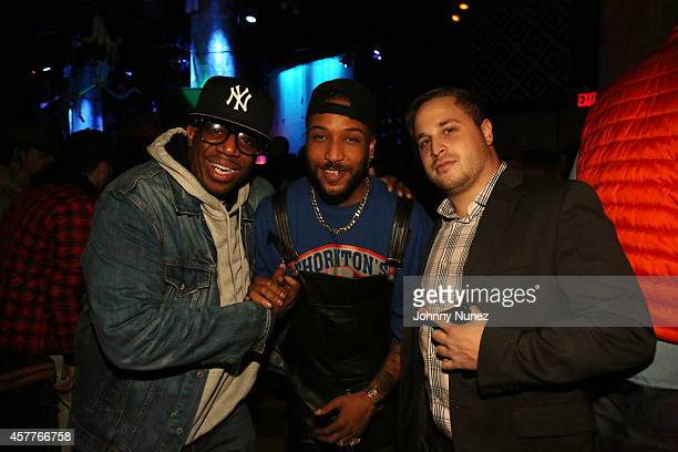 D Life Ro James and Jordan Gold attend Party Next Door Live at SOB's on October 23 in New York City