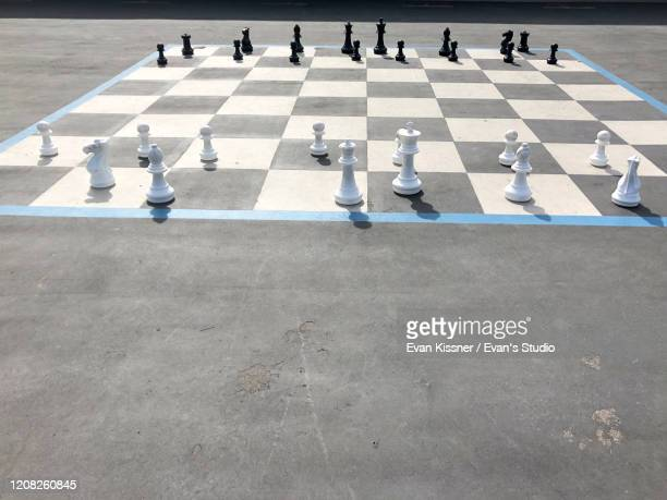 life size chess - life size stock pictures, royalty-free photos & images