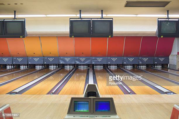 life style, play, game - bowling alley stock pictures, royalty-free photos & images
