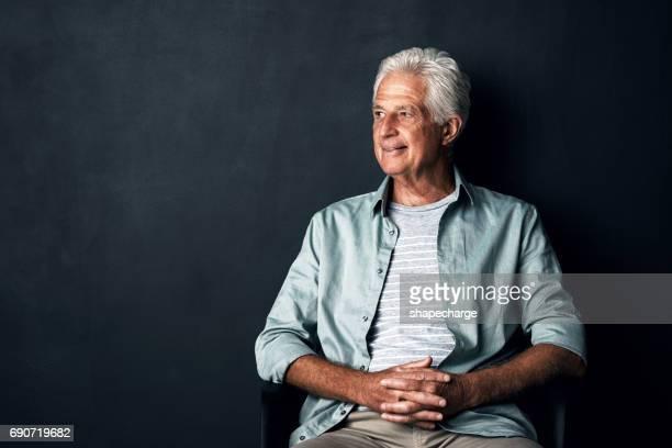 claro que a vida é boa - só um homem idoso - fotografias e filmes do acervo
