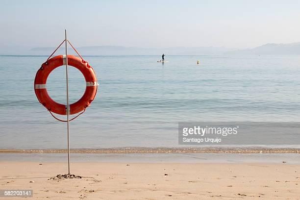 Lifebuoy at Santa Cristina beach