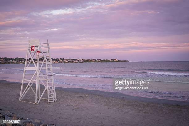 Lifeguard chair in Newport
