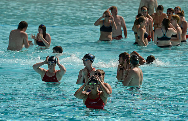 c22f213083a Hundreds of lifeguards compete in the 30th annual lifeguard games at Hyland  Hills Water World in