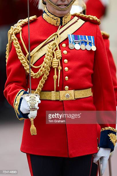 Lifeguard of the Household Cavalry at the Order of The Garter Service Windsor UK