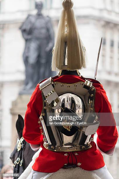 Lifeguard On Horse At Household Cavalry