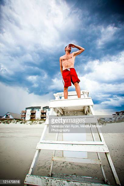 lifeguard - vanessa van ryzin stock photos and pictures
