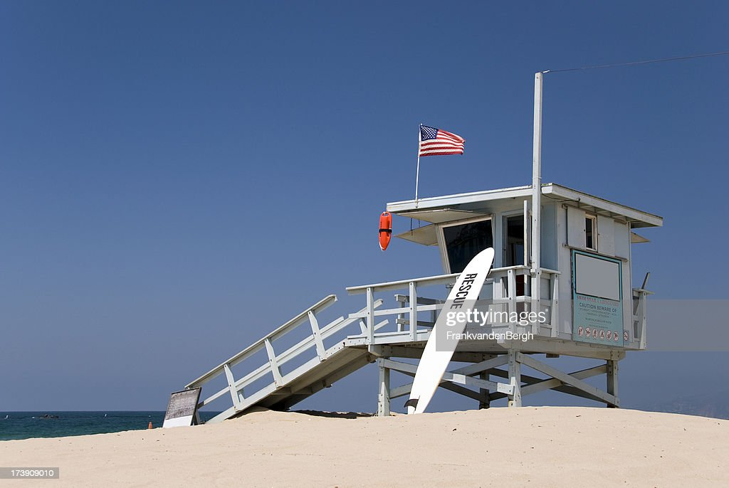 Gare de sauveteur à la plage : Photo