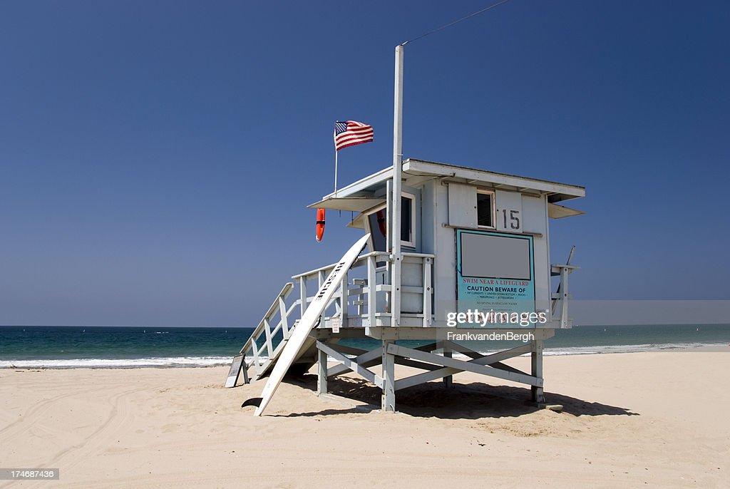 Lifeguard Station : Stock Photo