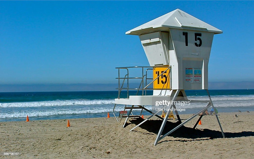 Lifeguard Station : Stock Photo