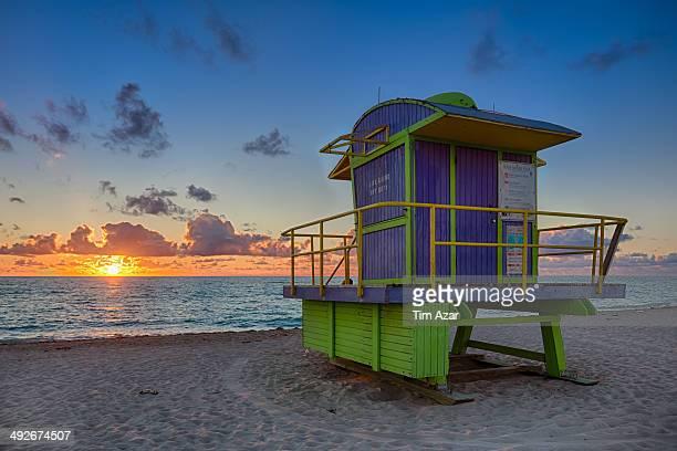 Lifeguard Tower, Miami Beach