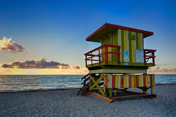 Lifeguard Tower, Miami Beach