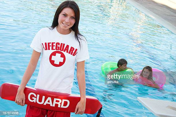 lifeguard with float - lifeguard stock pictures, royalty-free photos & images