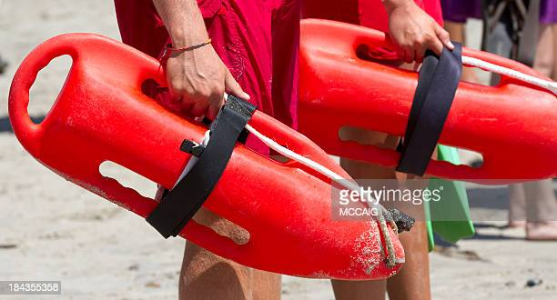 lifeguards - huntington beach stock pictures, royalty-free photos & images