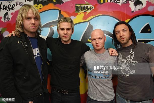 """Lifehouse Visit fuse's """"The Sauce"""" - April 2, 2008"""