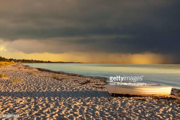 life's a beach - jutland stock photos and pictures