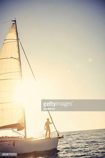 Life's an ocean, sail it