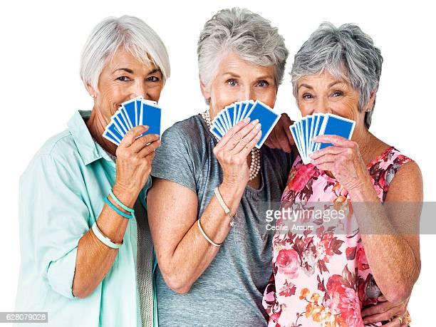 life's short, make your move - bridge card game stock-fotos und bilder