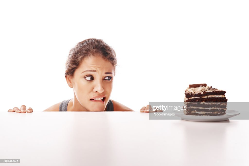 Life's too short to say no to cake : Stock Photo