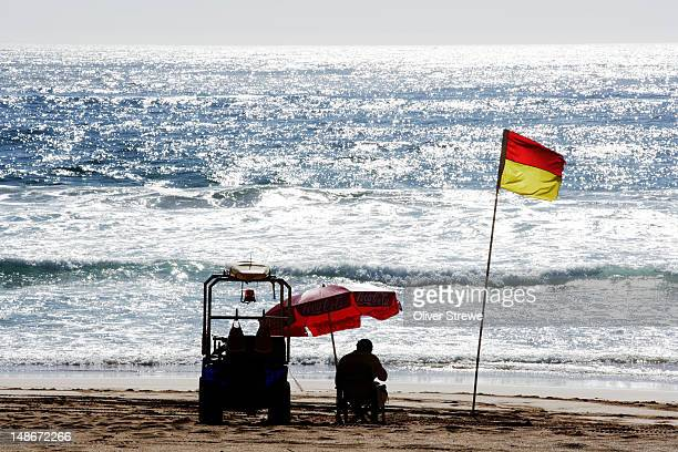 Lifesaver on Whale Beach.