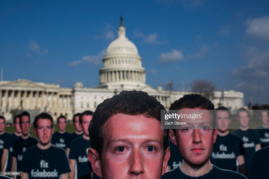 Activists Call On Facebook To Increase Measures Against Disinformation On The Platform : News Photo