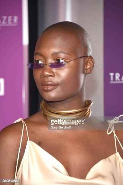 Lifestyle and beauty blogger Mama Cax attends the 2018 VH 1 Trailblazer Honors at Cathedral of St John the Divine on June 21 2018 in New York City