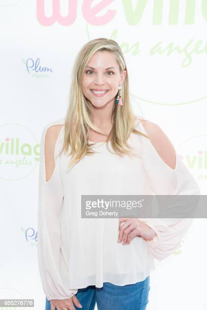 Lifestyle Blogger Abigail Ochse attends the Grand Opening Party For WeVillage at WeVillage on March 18 2017 in Los Angeles California