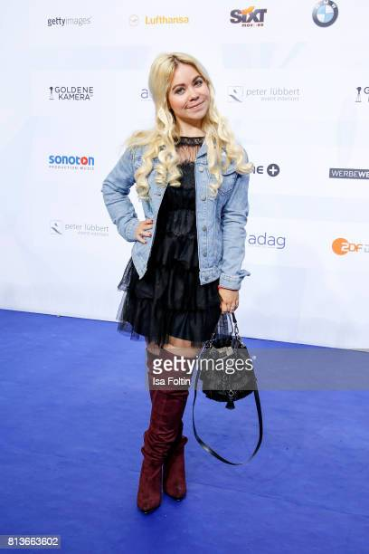 Lifestyle Blogger Nadine Trompka attends the summer party 2017 of the German Producers Alliance on July 12 2017 in Berlin Germany