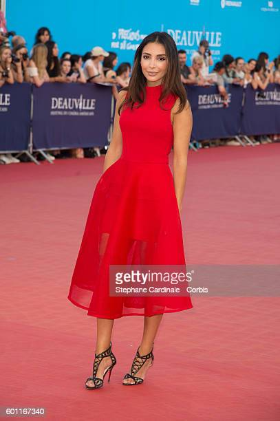 Lifestyle blogger Sananas attends the 'Imperium' Premiere on September 9 2016 in Deauville France
