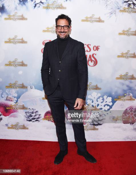 Lifestyle expert Lawrence Zarian arrives at the Hallmark Channel 'Once Upon A Christmas Miracle' screening and holiday party at 189 by Dominique...