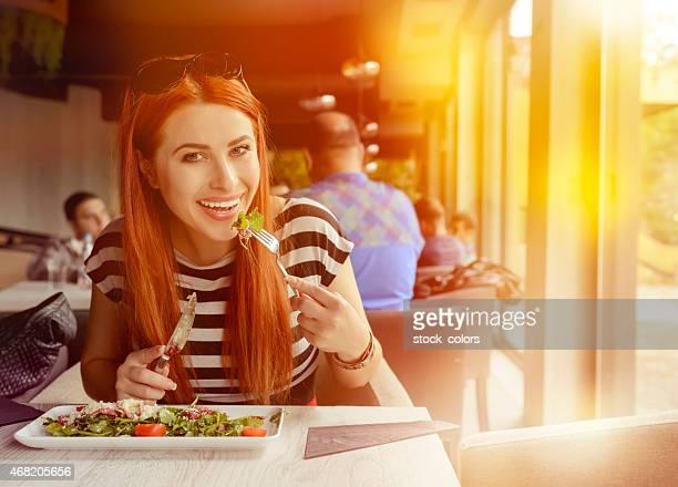 lifestyle in restaurant