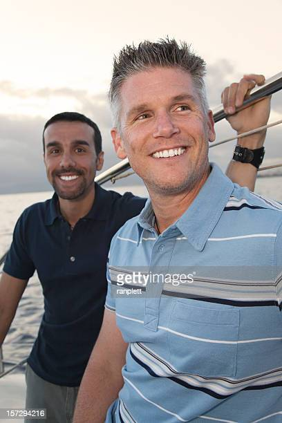 Lifestyle: Men on a Boat