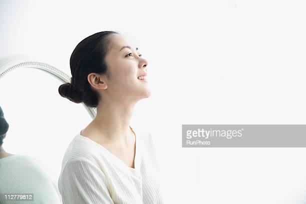 lifestyle of asian woman - top garment ストックフォトと画像