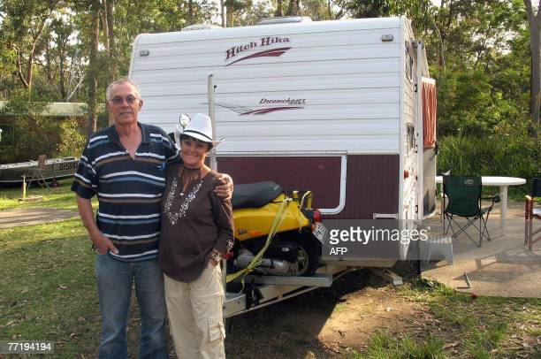 LifestyleAustraliaretirementnomadsFEATURE by Lawrence Bartlett This photo taken 26 September 2007 shows retired lawyer Ron Fletcher and his partner...