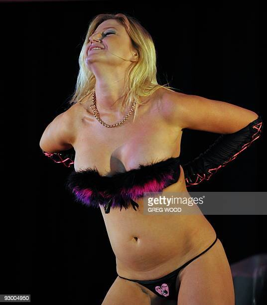 LifestyleAustraliasexeconomyFEATURE by Talek Harris This photo taken on October 31 2009 shows Sexbomb performer Jessie Rue performing during the...