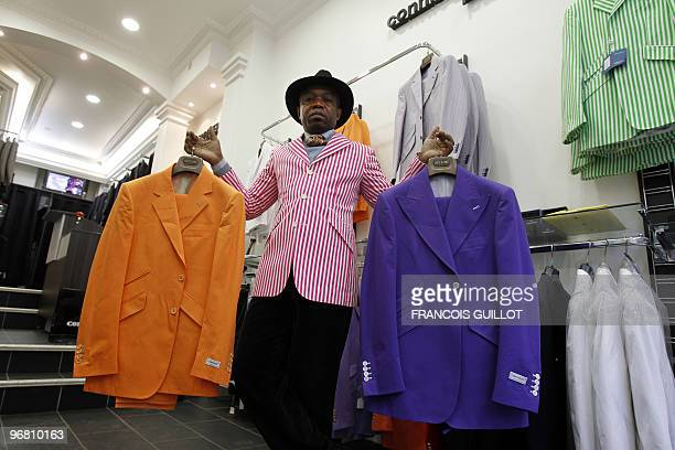LifestylefashionAfricaFranceFEATURE by Yomi Abiola Jocelyn Armel poses at his men's clothing boutique on February 10 2010 in Paris Armel the first...