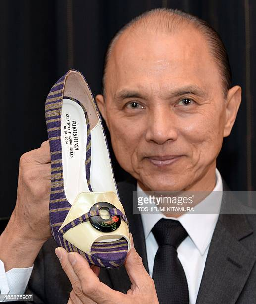 Lifestyle-fashion-footwear-JimmyChoo-IPO,INTERVIEW by HARUMI OZAWA In this picture taken on April 18 Malaysian designer Jimmy Choo poses with his...
