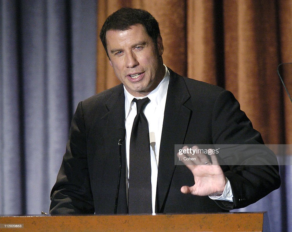 Lifetime Achievement Award John Travolta during The 8th Annual Hollywood Film Festival Awards Ceremony - Show at The Beverly Hilton Hotel in Beverly Hills, California, United States.