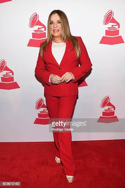 Lifetime Achievement Award recipient Ednita Nazario attends the 2016 Latin Recording Academy Special Awards during the 17th annual Latin Grammy...