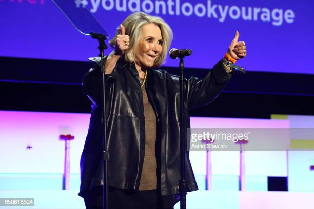 Lifetime Achievement Award recipient executive producer and former president HBO documentary films Sheila Nevins speaks on stage during Tribeca...