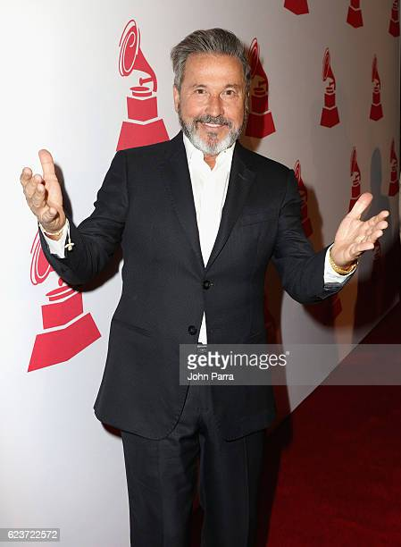 Lifetime Achievement Award recipient Ricardo Montaner attends the 2016 Latin Recording Academy Special Awards during the 17th annual Latin Grammy...