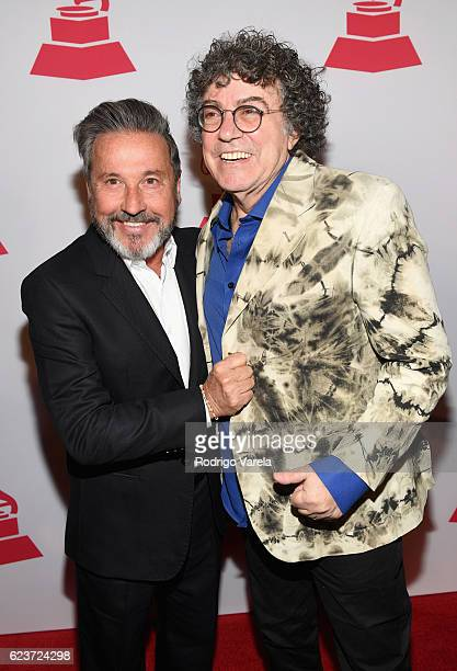 Lifetime Achievement Award recipients Ricardo Montaner and Piero attend the 2016 Latin Recording Academy Special Awards during the 17th annual Latin...