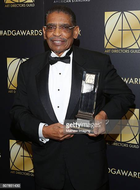 Lifetime Achievement award winner William J Newmon II attends the 20th Annual Art Directors Guild Excellence In Production Design Awards The Beverly...